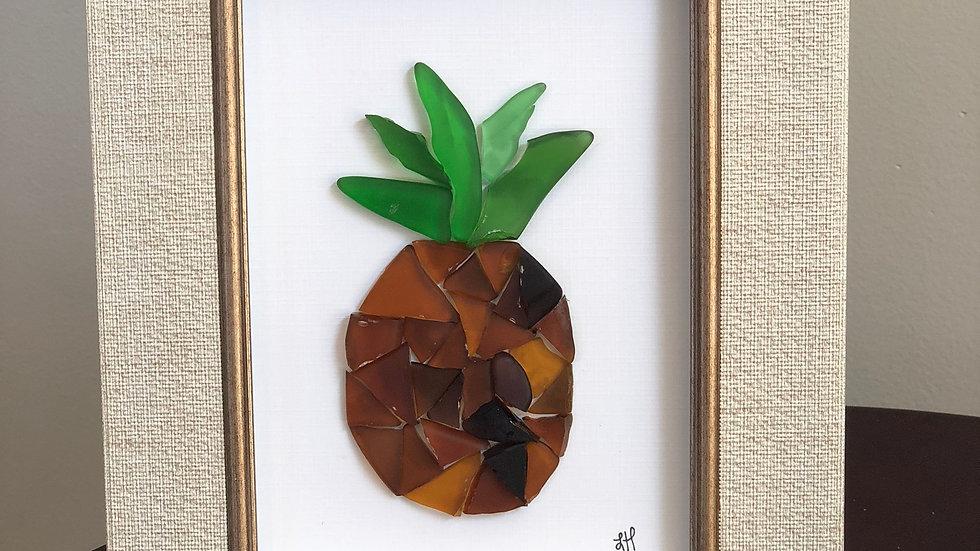 Sea Glass Pineapple