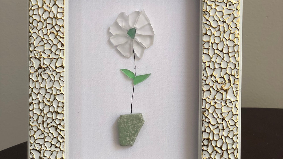 Sea Glass Flower