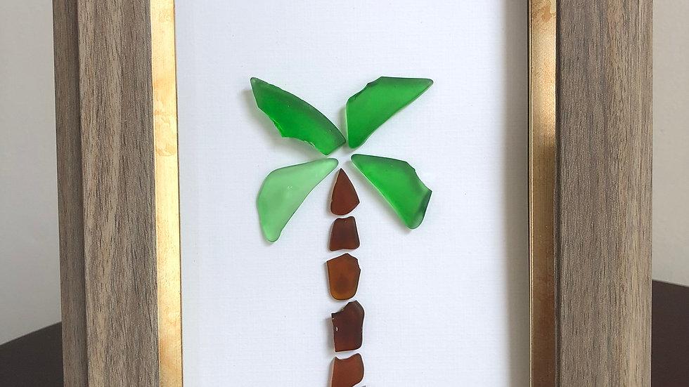 Sea Glass Palm tree