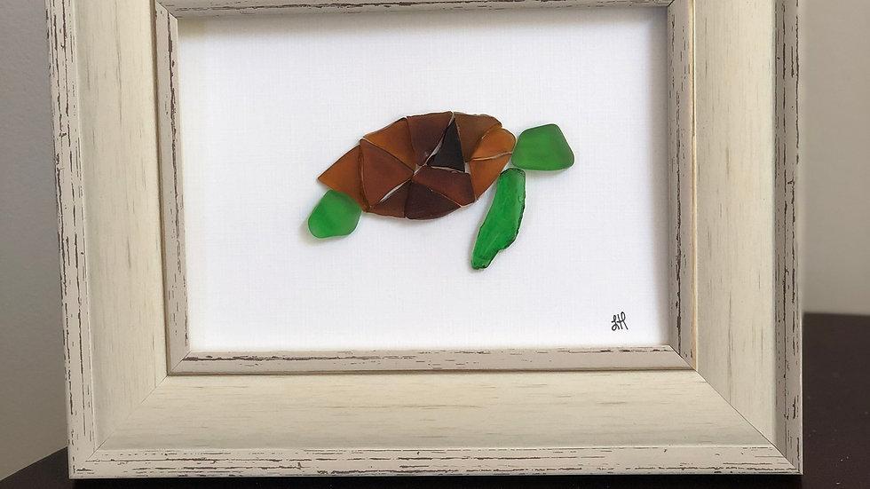 Sea Glass turtle