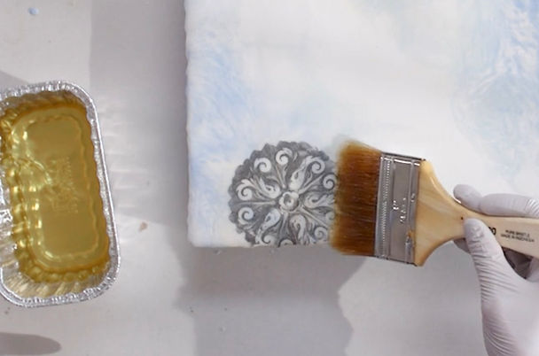 Encaustic image transfer