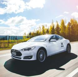 Tesla Supercharger Rally