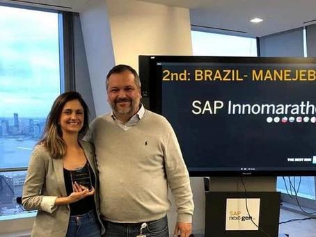 Startup catarinense é premiada nos EUA
