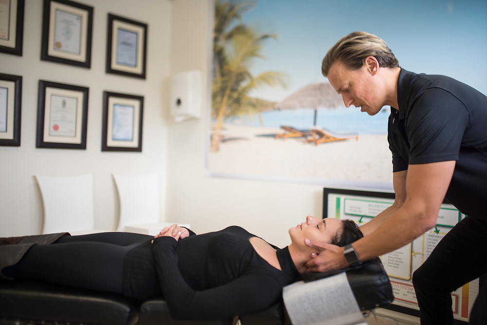 chiropractic manipulation or 'adjustments' are gentle manipulations delivered to the joints to help restore movement to the spinal column.