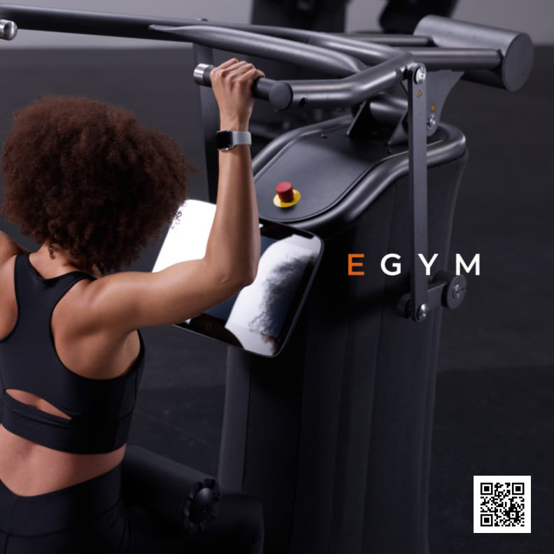 eGYM Front Page Success in a Box
