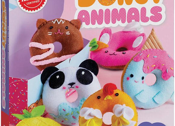 Klutz Sew Your Own Donut Animals: Sewing and Craft Kit