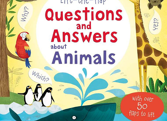 Usborne Lift-the-flap: Questions and Answers about Animals