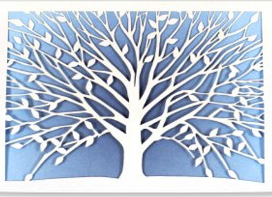Blank, boxed notecards Tree of Life 10 cards and 11 designer envelopes