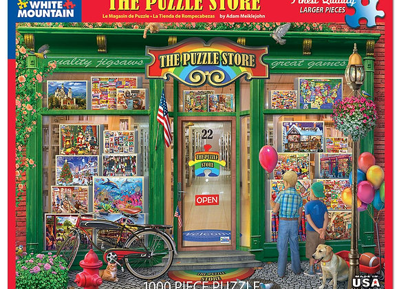 White Mountain The Puzzle Store