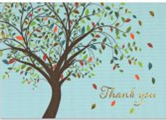 Boxed Thank You Cards Tree Of Life 14 cards and 15 designer envelopes