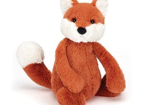 "Jellycat Bashful Fox medium 12"""