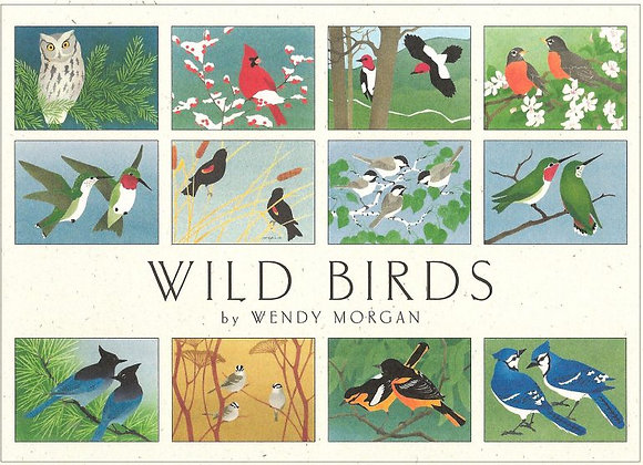 Crane Creek Blank Notecards Wild Birds