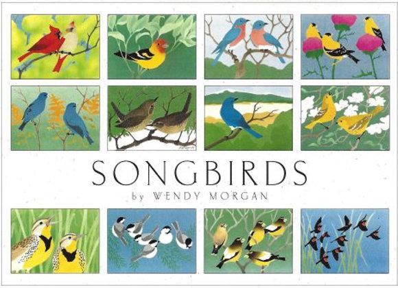Crane Creek Blank Notecards Songbirds