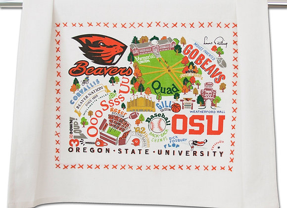 Oregon State University Dish Towel