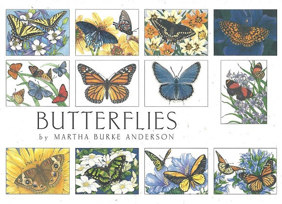 Crank Creek Blank Notecards Butterflies