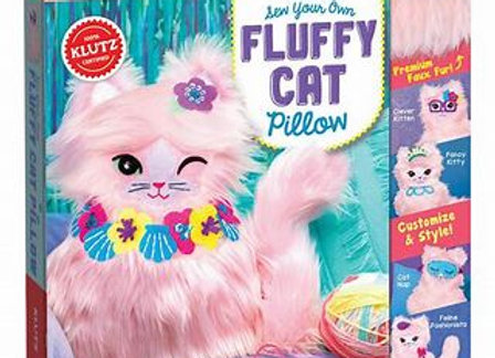 Klutz Sew Your Own Fluffy Cat