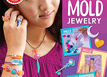 Klutz Melt & Mold Jewelry Craft Kit