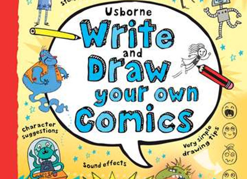 Usborne: Write and Draw Your Own Comics