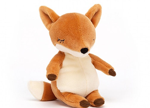 "Jellycat Minikin Fox 6"""