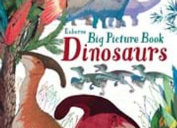 Usborne Big Picture Book Dinosaurs (Hard Cover)