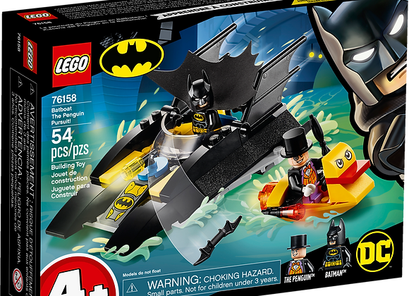LEGO Batboat The Penguin Pursuit!