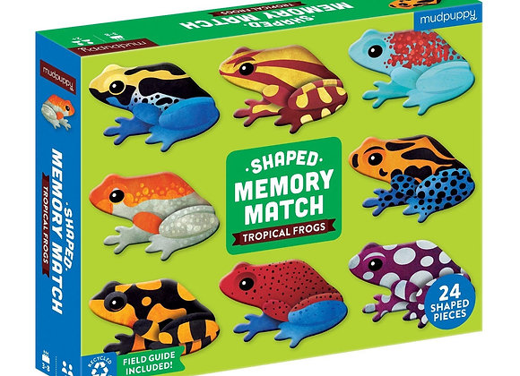 Shaped Memory Match Frogs