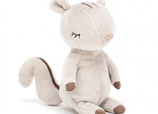 "Jellycat Minikin Squirrel 6"""