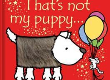 That's Not My Puppy...a Usborne Touchy-Feely book
