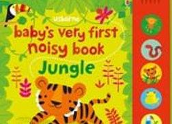 Usborne: Baby's Very First Noisy Book:  Jungle