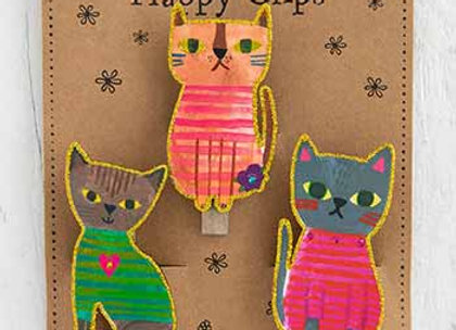 Magnet Happy Clips Cats