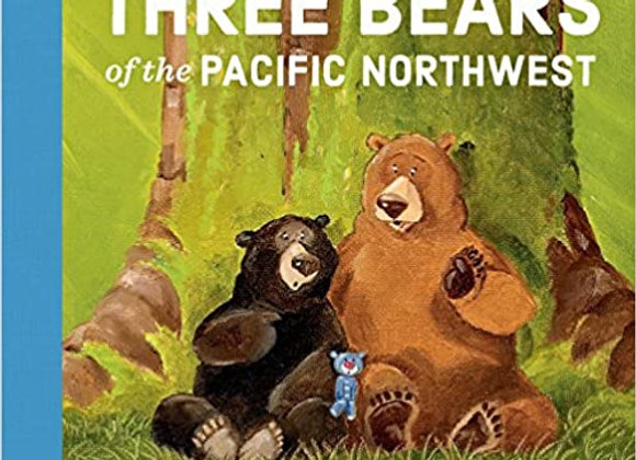 Three Bears of the Pacific Northwest (Board Book)
