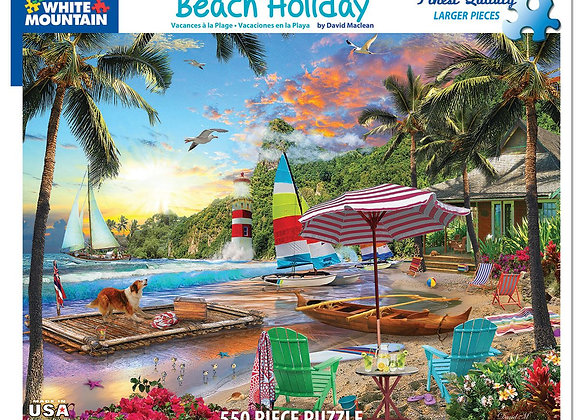 Beach Holiday 550 Pieces