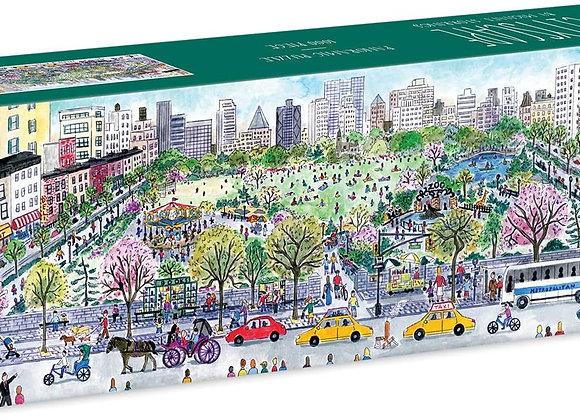 Cityscape horizontal puzzle