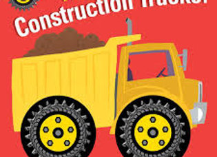 Lets Go, Construction Trucks! (Board Book)