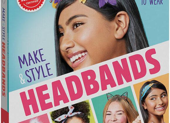 Klutz Make & Style Headbands Craft Kit