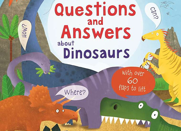 Usborne: Lift-the-Flap: Questions and Answers about Dinosaurs