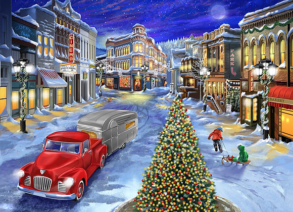 A Drive Down Main Street