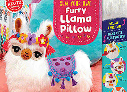 Klutz Sew Your Own Furry Llama Pillow: Sewing and Craft Kit