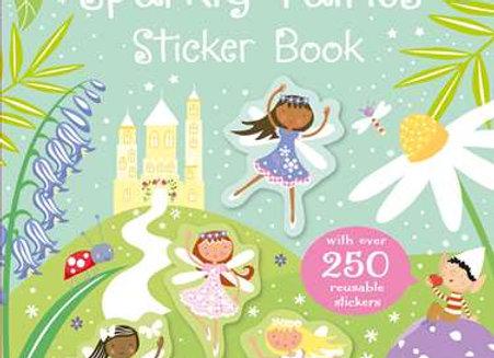 Little Stickers Sparkly Fairies Sticker Book