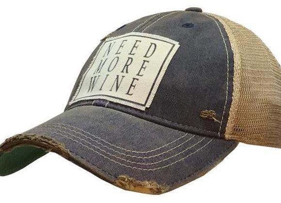 Vintage Distressed Trucker Cap