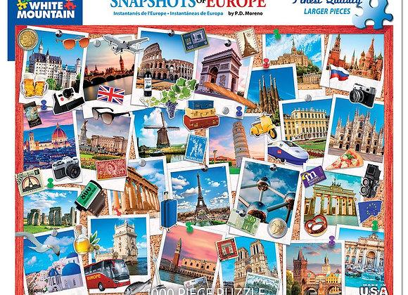 Snapshots Of Europe