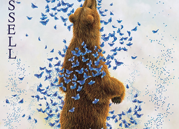 """Blank Note Cards """"Bears"""" by Bissell 4 assort/20 cards in box"""