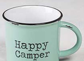 Camp Mug, ceramic & double sided 16 oz