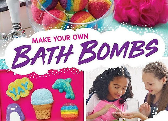 Klutz Make Your Own Bath Bombs: Craft & Activity Kit