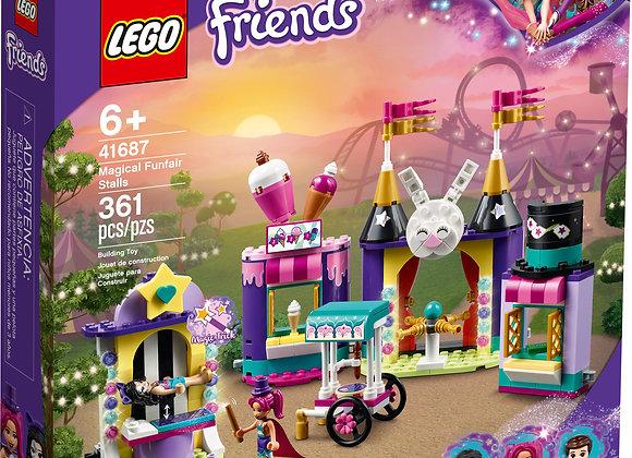 Friends Magical Funfair Stalls