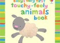 Baby's very first touchy-feely animals book (Board Book)