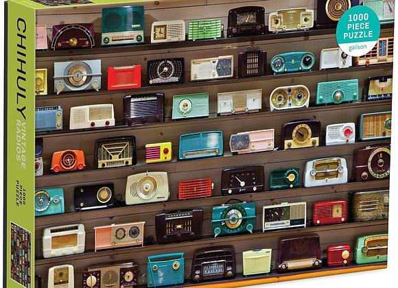 Chihuly Vintage Radios