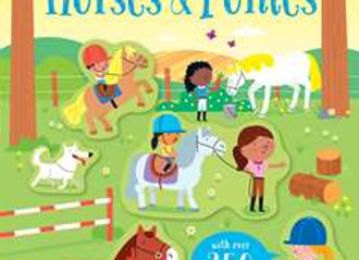 Little First Stickers Horses & Ponies
