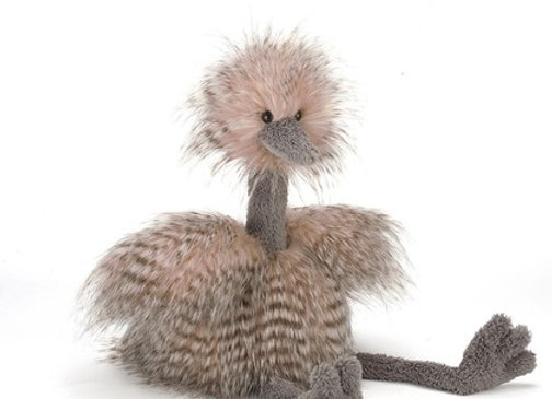 Jellycat Odette Ostrich Medium 20""