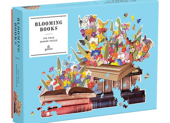Blooming Books Shaped Puzzle 750 Piece (not large format pieces)